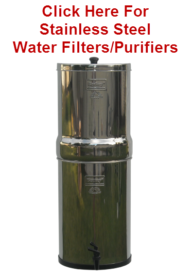 Berkey Water Filters For Pure Water