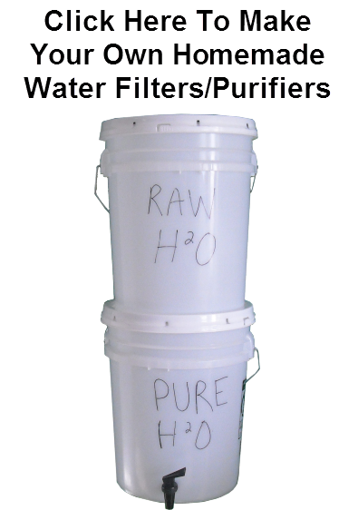 Emergency Water Filter Bucket Purifier