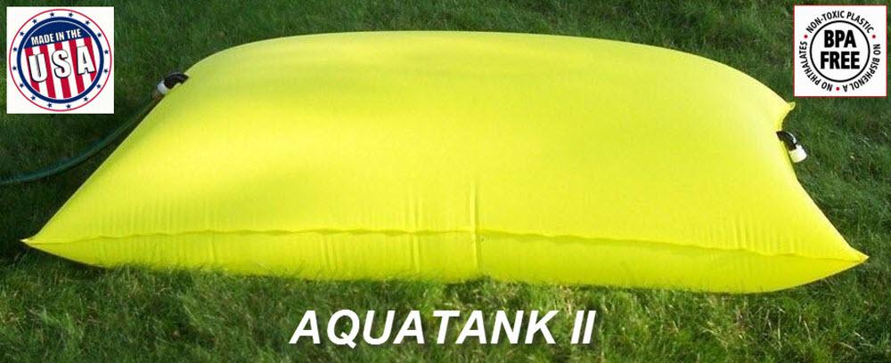 Aquatank 2 Water Storage Tank And Bladder For Emergency